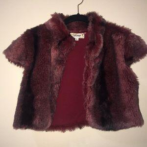 Lulumari faux fur vest